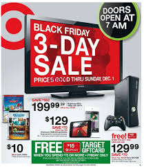 black friday target electronics target black friday flyer november 29 to december 1