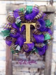 mardi gras mesh mardi gras deco mesh wreath with purple fleur de lis mardi gras