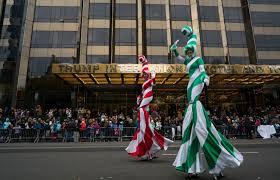 nyc thanksgiving day parade photos macy u0027s thanksgiving day parade in nyc kpic
