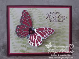 butterfly bundle for all occasions card sting madly