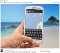 samsung si e social samsung ti manda su un isola deserta ma tu vorrai un iphone 5