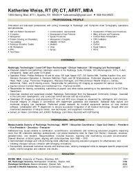 Resume Bm Radiology Resume Professional Radiology Technician Templates To