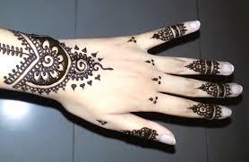 simple arabic henna easy stylish mehndi tattoo design for