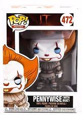 pop funko it pennywise with boat in stock now ebay