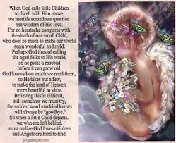 Love A Child Quotes by When God Calls Little Children To Dwell With Him Above Death