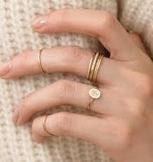 signet wedding ring flat seed signet ring handmade in blanca monrós gómez