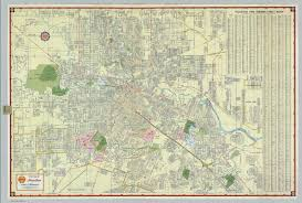 houston map buy shell map of houston david rumsey historical map collection