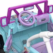 frozen power wheels power wheels frozen jeep wrangler carro eléctrico niños 1 799