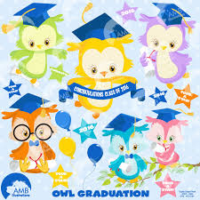 graduation wrapping paper graduation owls clipart graduation owl clipart instant