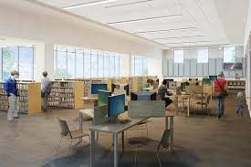 Library Interior Design Heights Libraries U2013 University Heights Library Addition And Renovation