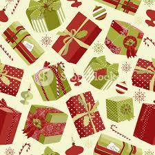 wrapped christmas boxes retro christmas gift boxes seamless pattern royalty free stock