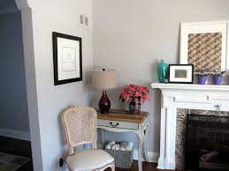 Stonington Gray Living Room by Modern Grace Design Paint Job Tah Dah