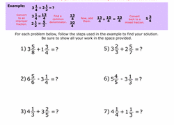 5th grade fractions worksheets u0026 free printables education com