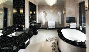 gold bathrooms black white gold bathroom conceptcreative info