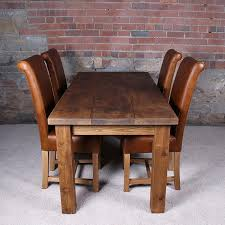 Solid Oak Dining Room Set Dining Table Sets Solid Wood Dining Room Ideas