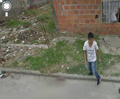 Scary Maps This Is Scary Colombian Man Fires Gun At Google Street View Car