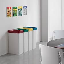 poubelle de bureau tri selectif poubelle de bureau pour le tri sélectif maxi arredaclick