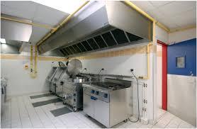 ventilation cuisine gaz cuisine professionnelle arrêt d urgence général obligatoire