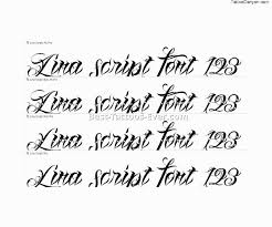 tattoo script fonts 16 best tattoos ever
