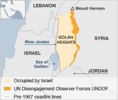 Where Is Holland On The Map Golan Heights Profile Bbc News