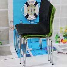 Cheap Waiting Room Chairs Metal And Plastic Chairs Grid Pattern Waiting Chair Fashion