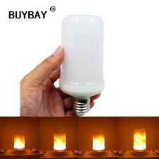 led flame effect fire light bulbs buybay e27 e26 2835 led flame effect fire light bulbs 7w creative