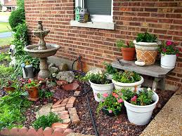 Outdoor Container Gardening Ideas Container Gardening Ideas For Small Yards 238 Hostelgarden Net