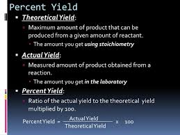 chapter 9 3 limiting reactants and percent yield