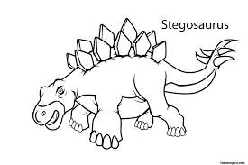 dinosaurs for kids coloring page free download