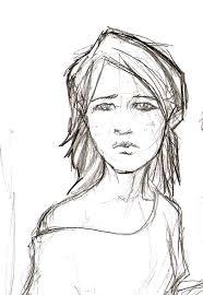 sad sketch by ismaellourenco on deviantart