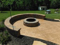 Photos Of Stamped Concrete Patios by Residential Stamped U0026 Decorative Concrete Cumberland Masonry Inc