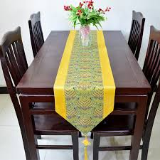 silk home aliexpress buy thick jacquard patchwork knot table