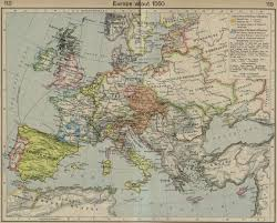 Map Of England And France by Whkmla Historical Atlas Europe 1500 1815