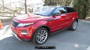 red land rover old 2012 range rover evoque coupe pure plus dynamic start up exhaust