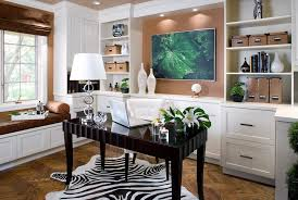 blooming contemporary office chairs with built in cabinets desk