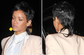 rihanna u0027s new hair is a mullet and it looks terrible mirror online