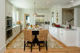 Kitchen Pass Through Designs by Luxury South Carolina Home Features Inset Shaker Cabinets