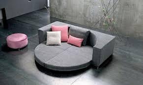 canapé lit rond canape rond convertible maison design wiblia com