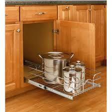Under Kitchen Sink Pull Out Storage by Storage Baskets Kitchen Cabinet Chrome Pull Out Wire Baskets W