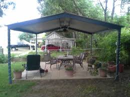 Patio Cover Lighting Ideas by Free Standing Patio Cover Kits Brockhurststud Com