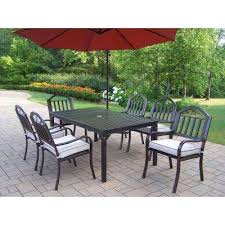 umbrella base metal patio furniture patio dining sets patio