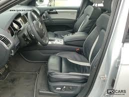 how many seater is audi q7 2011 audi q7 6 0 tdi quattro tiptronic 6 seats rear seat car