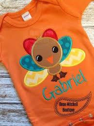 baby turkey applique embroidery design beau mitchell boutique