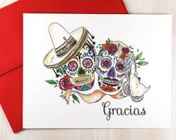 custom notecards mexican notecards etsy