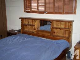 Water Bed Frames King Size Waterbed Wood Frame C Verde Az For Sale In