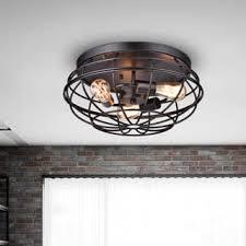 industrial flush mount light flush mount lighting for less overstock com