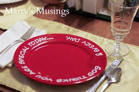 you are special plates s day and the special plate marty s musings