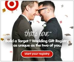 wedding registry for men target has marriage in its crosshairs