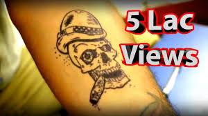 how to make temporary tattoo at home youtube