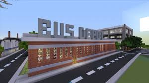 minecraft xbox 360 awesome structures bus depot youtube